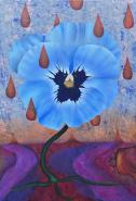 Lonely Viola Flower